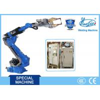 China Energy saving 6 DOF Industrial Robot Arm Welding Equipment for Parts on sale