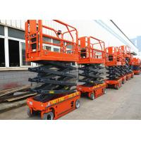 Quality Electric Driven Mobile Hydraulic Scissor Lift Tilt Protection System wholesale