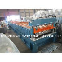 Quality 440V Decking Roll Forming Machine Sheet Metal Machine 82mm dia.solid steel wholesale