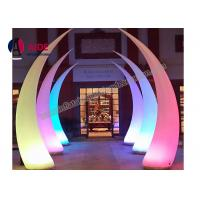 Cheap Led Inflatable Cone Entrance Archway Inflatables For Light Art Festival Exhibition for sale