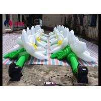 Quality PVC Coated Inflatable Event Decoration LED Inflatable Flowers In Wedding wholesale