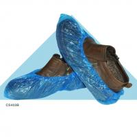 Quality China manufacturer plastic pe blue shoe cover for used in ice and snow wholesale