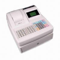 Cheap Electronic Cash Register with ARM7 CPU, 59 Keys Keyboard and 10 Digits LED Customer Display for sale