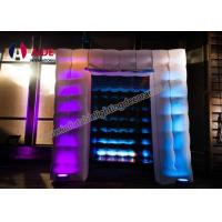 Cheap Customized Logo Print Photo Booth Inflatable Square Home Photography Studio for sale