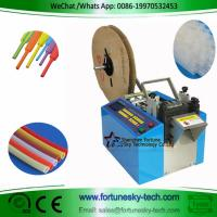 Fully Automatic Heat Shrinkable Tubing Hot Cold Cutter Cut To Length Auto-Stop Speedy Accuracy