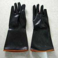 Quality Acid And Alkali Resistant Latex Industrial Gloves wholesale