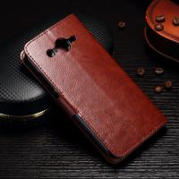 Quality PU Leather Huawei Y3 Phone Case Handmade Light Weight With Slot Function wholesale