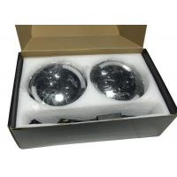 Cheap 7 Inch 40W Black Jeep Wrangler LED Headlights Round J10 High Intensity for sale