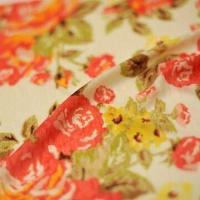 Quality Printed Fabric, Suitable for Ladies and Fashion Wear, Made of 100% Polyester wholesale