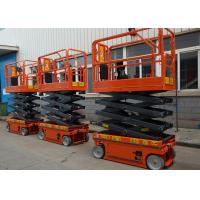 Quality Self Propelled Electric Aerial Work Platform Extendable Proportional Control wholesale