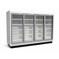 Buy cheap Refrigerated Vertical Glass Door Freezer Multideck Frozen Food Cabinets from wholesalers