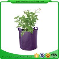 Quality Hanging Grow Bags Garden Plant Accessories , Garden Grow Bags For Plants wholesale