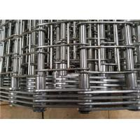 Quality Industrial Heavy Duty Conveyor Chain Belt Stainless Steel 304 Corrosion Resistant wholesale