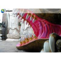 Quality Flexible Mobile 5D Dinosaur Cinema Equipment 5D Movie Theater System ISO9001 wholesale