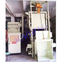 Buy cheap Wheel Blaster Tumble Auto Blasting Machine , Blast Track Shot Blaster Surface Derusting product