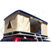 Quality Double Layer Automatic Hard Top Car Tent , 3 Person Roof Top Tent Custom Printed wholesale