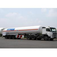 Quality 52600L LNG Tank Truck Trailer Tri Axles For Liquid Natural Gas Transport wholesale