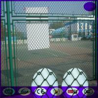 China China supply Heavy duty 6 feet galvanized vinyl coated or PVC coated chain link fence on sale