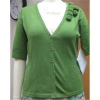 Quality green cardigan sweater wholesale