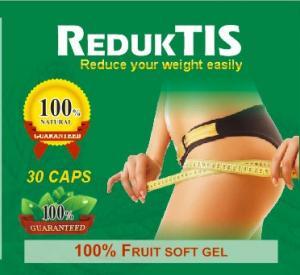 REDUKTIS 100% fruit soft gel herbs slimming capsule diet pills adelgaza la cápsula