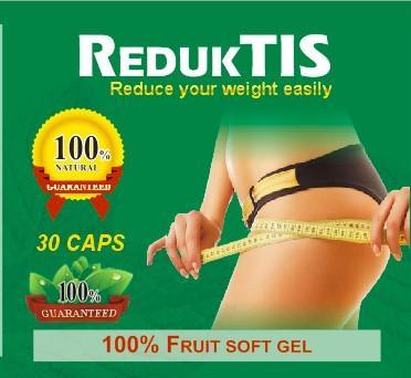Cheap REDUKTIS 100% fruit soft gel herbs slimming capsule diet pills adelgaza la cápsula for sale