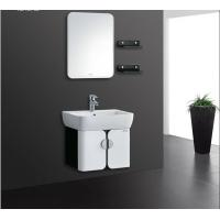 Quality 5mm silvered float mirror PVC Bathroom Cabinet 40 inch vanity with sink wholesale