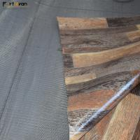 Buy cheap 0.35 - 2mm Thickness Commercial Vinyl Flooring Wood Grain Plastic Roll from wholesalers