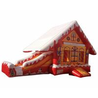 China Christmas Party Events Inflatable Combo Jumping Castle Slide Bounce House on sale