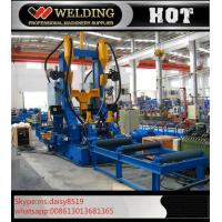 Cheap Assembly Welding Straightening H Beam Welding Line 3 In 1 High Efficiency for Industrial for sale