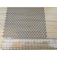 China Carbon Steel Sheets Diamond Shape Wire Mesh Manufacturing Applications on sale