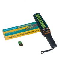 Quality LED High Sensitivity Consumption Handheld Metal Detector for Security Industry wholesale