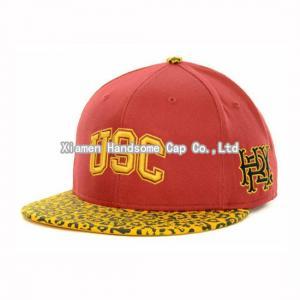 Quality Wholesale or Custom Leopard Printed Snapback Baseball Cap SC-022 wholesale