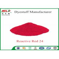 Quality Textile Dyeing Chemicals Reactive Brill Red K-2BP C I Reactive Red 24 wholesale