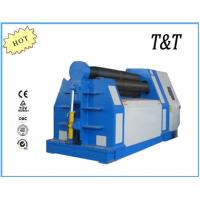Buy cheap FOUR ROLLER HYDRAULIC PLATE ROLLING MACHINE MANUFACTURE from wholesalers