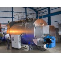 Quality Combustion 10 Ton Gas Fired Steam Boiler With Stainless Steel Plate wholesale
