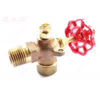 China Reliable Oil Field Accessories 1/4-4  Female Thread Brass Forged Gate Valve on sale