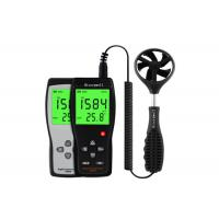 Quality Poratble Wind Speed Measuring Device Anemometer Gauge With LCD Back Light wholesale