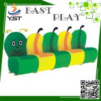 Quality Residential Zones Soft Play Sponge Worm Sofa Design D4106 OEM Available wholesale