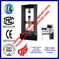 Quality 10tons tensile strength tester price,metal testing equipment,tensile meter in China wholesale