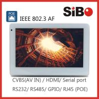 Cheap 7 Inch Wall Mounted Smart House Automation POE Touch Tablet for sale