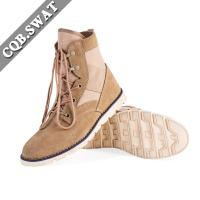 China suede leather mens boots saudi arabia military combat rubber sole boots chinese products for hunting on sale