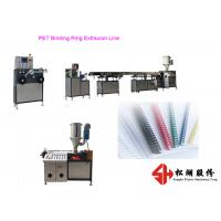 Cheap Plastic PET PVC Binding Ring Plastic Strapping Band Making Machine With Precise Extrusion Technology for sale