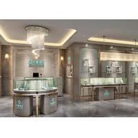 Quality Luxury Modern Jewelry Shop Display Cabinets / Jewellery Showroom Furniture wholesale