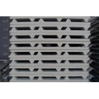 Quality High density fireproof prefab wall panels , pu Sandwich Panel for roof wholesale