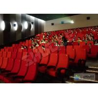 Quality Futuristic Vibration Sound 4D Cinema System With Electric Motion SV Chair wholesale