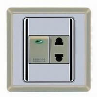 Quality Smart Design Full PC Wall Socket Switch with 10A Current and 250V Voltage wholesale