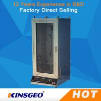 Quality Automatic Electric Fabric Testing Equipment Veritical With Power Ac220V,50Hz wholesale