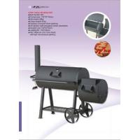 Quality Professional Stationary Big Size Charcoal BBQ Grill wholesale
