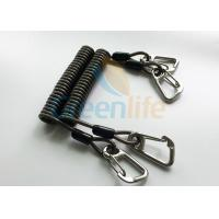 Quality High Security Coil Tool Lanyard Steel Reinforced 125MM Retractable Extension Cord wholesale