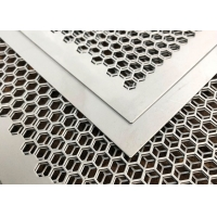 1x2 Punched Metal Sheets 304 316 316L Perforated Stainless Steel Mesh for sale